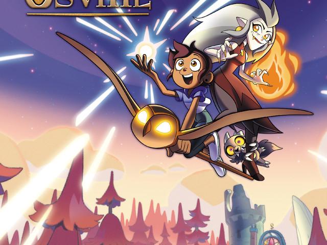 """Disney Channel: la nouvelle série d'animation """"Luz à Orville"""" débarque dés le 15 avril"""