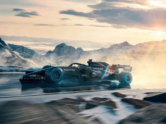F1 – Voici la première livrée de l'Alpine…et ça envoie déjà du lourd !