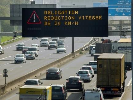 Pollution: circulation différenciée mise en place à Lille
