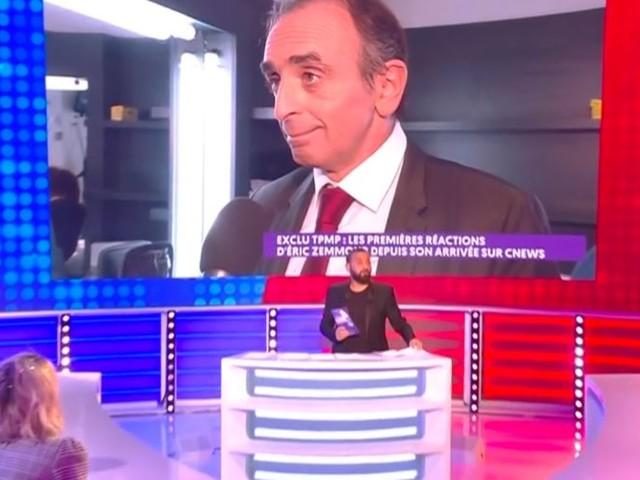 Eric Zemmour sur CNews : la bande de TPMP plutôt pour, les twittos furieux (VIDEO)