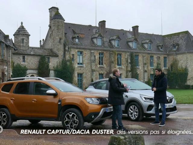 Renault Captur / Dacia Duster, des versions pas si éloignées - Comparatif TURBO du 19/01/2020