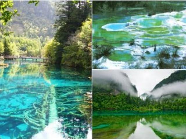Séisme en Chine: Les images magnifiques du parc national de Jiuzhaigou avant le drame