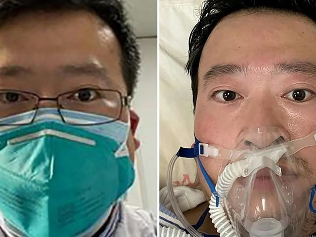 Chine: des milliers de Chinois rendent hommage au médecin lanceur d'alerte Li Wenliang