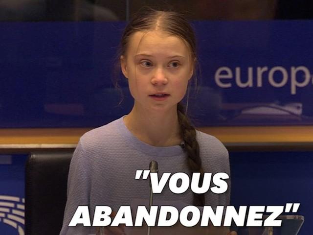"""Greta Thunberg critique l'UE qui """"prétend"""" être un """"leader"""" contre le changement climatique"""