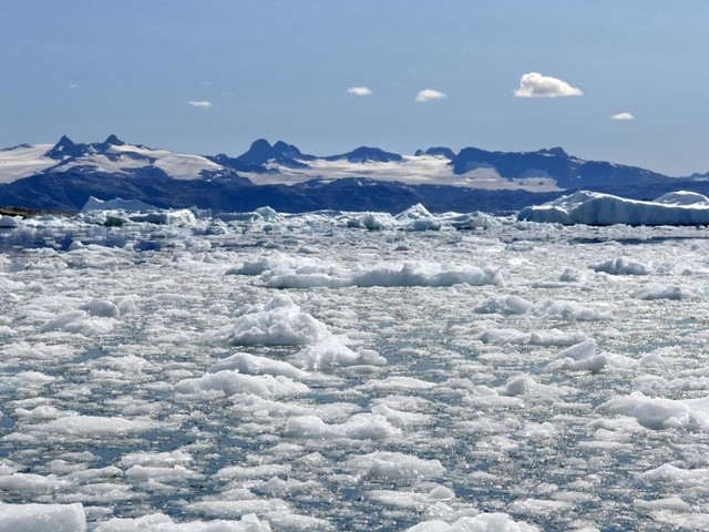 Réchauffement climatique : cette année a été la deuxième plus chaude depuis 1900 dans l'Arctique