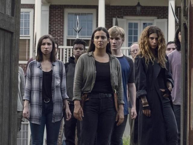 The Walking Dead saison 9 : Episode 11, les Chuchoteurs attaquent dans la vidéo promo