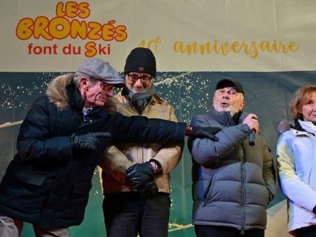L'équipe des Bronzés de retour à Val d'Isère, 40 ans après le film