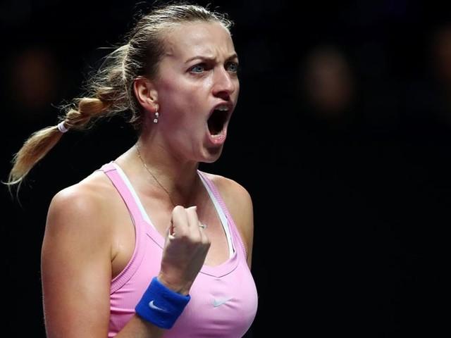Kvitova élue joueuse la plus fair-play du circuit pour la 7e fois consécutive