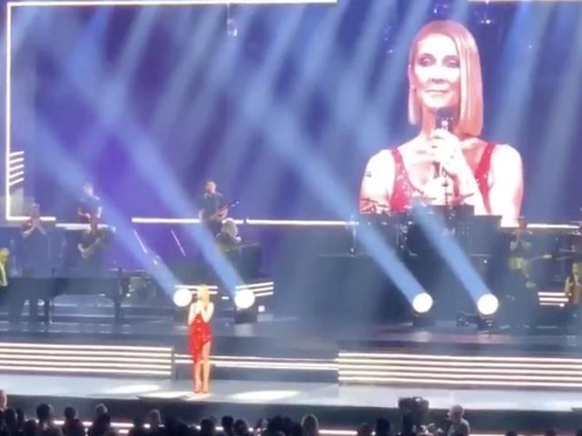 Céline Dion rend hommage à sa mère Thérèse à son concert de Miami