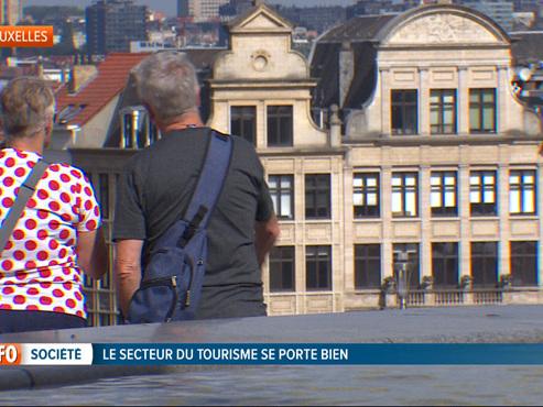 Passer quelques jours en Belgique a le vent en poupe et vous ne devinerez jamais d'où viennent principalement les touristes