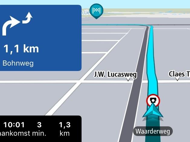 TomTom GO mis à jour avec le support de CarPlay