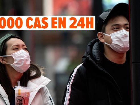 Le nombre de contaminations au coronavirus GRIMPE après un changement de calcul: l'épidémie pourrait avoir été sous-estimée