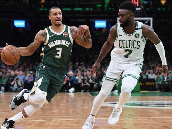 4947cf6096f91 Basket - NBA - NBA : les Milwaukee Bucks prennent le contrôle contre les  Boston Celtics