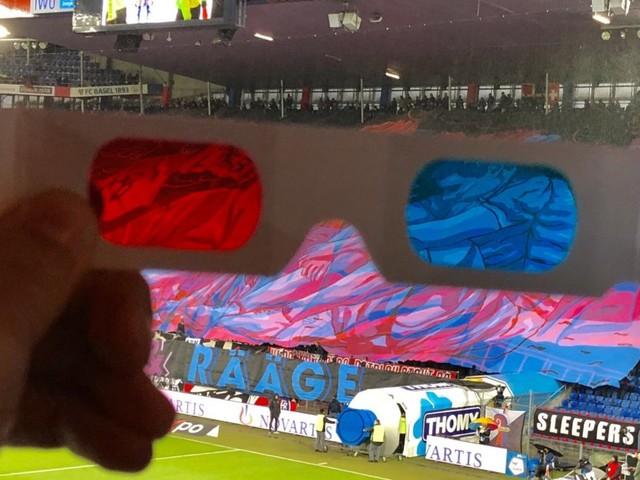 Ce tifo en 3D du FC Bâle vaut le détour
