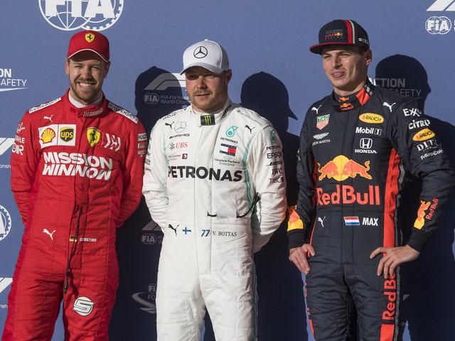 F1: Bottas, en pole aux Etats-Unis, fera tout pour battre Hamilton