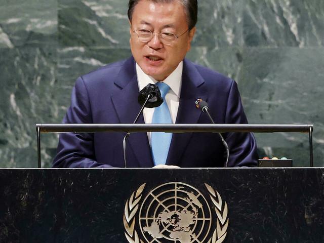 À l'ONU, le président sud-coréen appelle à la fin officielle de la guerre de Corée