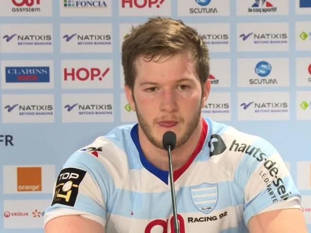 Rugby - Top 14 - R 92 - Louis Dupichot (Racing 92) : «Une très bonne opération»