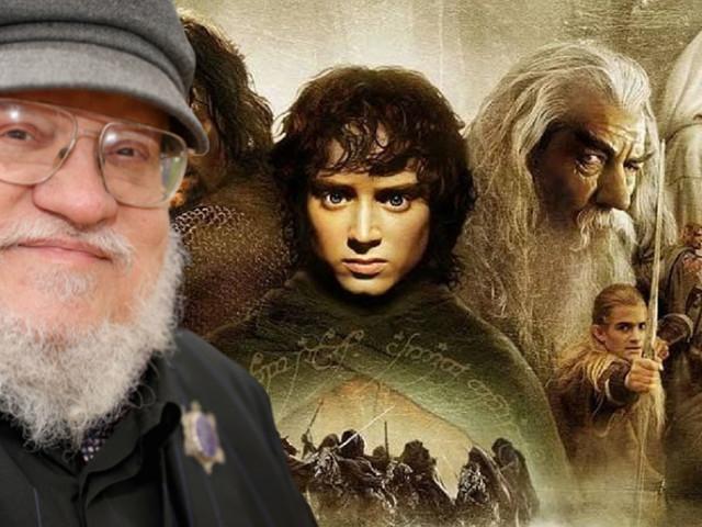 Le Seigneur des Anneaux : George R.R. Martin s'attaque à l'oeuvre de Tolkien