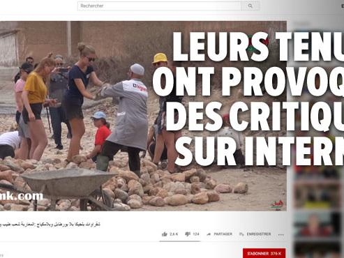 Des jeunes bénévoles belges en short au Maroc provoquent des réactions virulentes: un instituteur arrêté pour avoir appelé à les décapiter