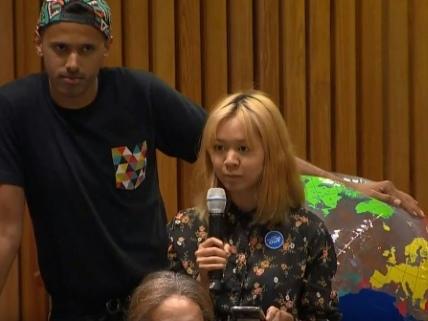 A l'ONU, les soupçons des jeunes contre l'écoblanchiment