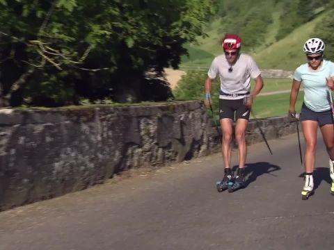 Biathlon - « Un jour avec » Célia Aymonier et Simon Desthieux