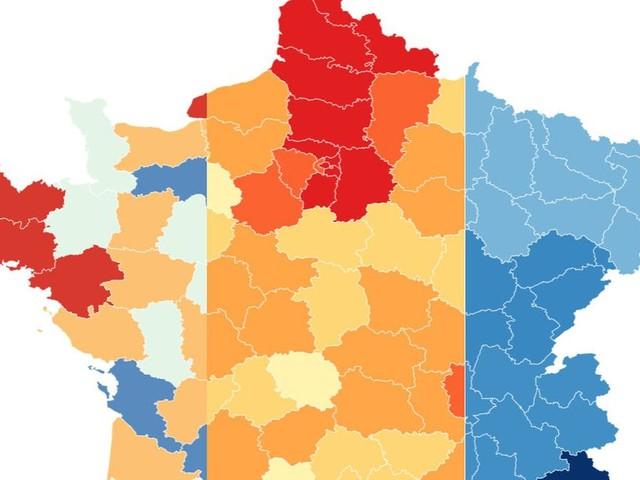 """Les cartes du Covid-19 en France pour comprendre où la situation est """"très préoccupante"""""""