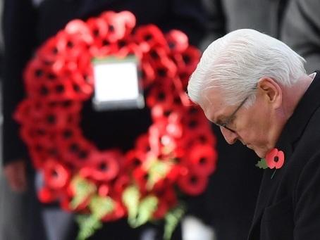 GB: le président allemand participe à la commémoration de la Grande Guerre