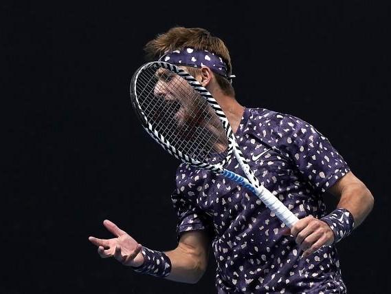 Open d'Australie (H) - Open d'Australie : Corentin Moutet battu par Marin Cilic