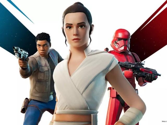 Fortnite en mode Star Wars : L'Ascension de Skywalker avec des skins Rey et Finn