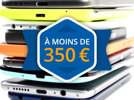 Les meilleurs smartphones à moins de 350 euros (2019)