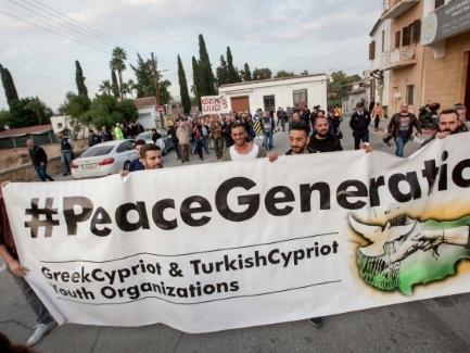Chypre: marche pour la réunification avant un sommet des dirigeants de l'île divisée