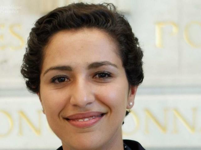 La secrétaire d'Etat à la jeunesse Sarah El Haïry à Pau cette fin de semaine