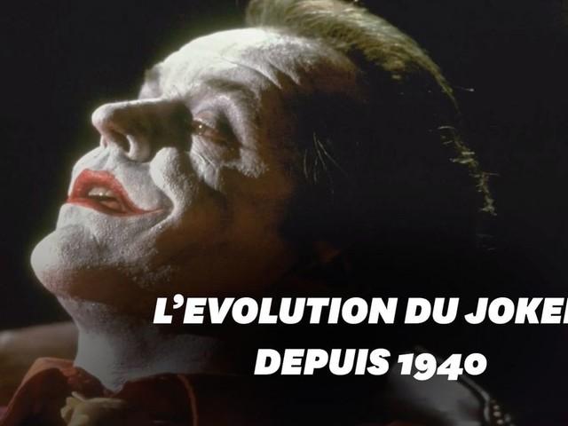 """Oscars 2020: Joker du comics au cinéma, l'évolution du """"clown prince du crime"""""""