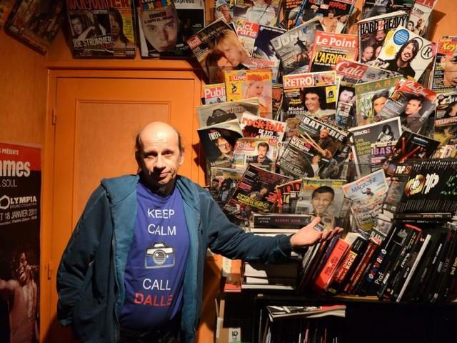 Yvelines. Bertrand Alary, directeur de l'agence photographique Dalle