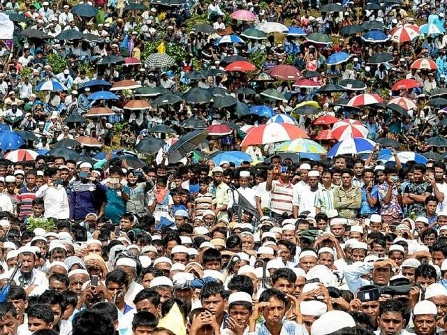Bangladesh. 200000 Rohingyas commémorent leurs deux ans d'exil