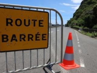 La route du Littoral à nouveau totalement fermé en mars
