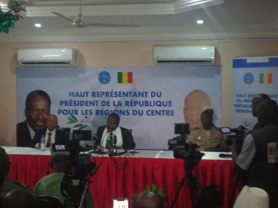 Crise au Centre: Le Haut Représentant du Président de la République fait le point sur sa mission