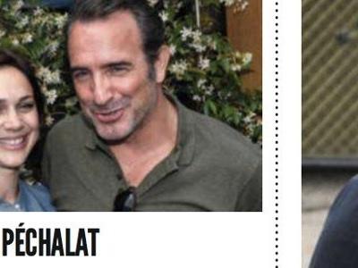 Jean Dujardin épuisé et au fond du trou, mise au point de Nathalie Péchalat (photo)