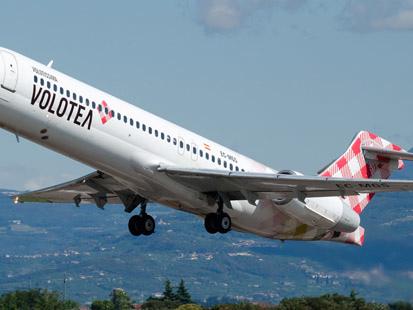 Volotea : 100 000 billets d'avion à partir de 9€ pour voyager jusqu'en novembre 2019