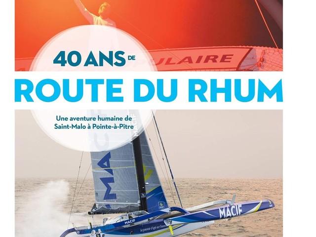 40 ans de la Route du Rhum : parution d'un live d'Eric Cintas et Michel Desjoyeaux.