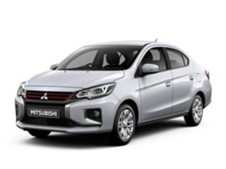 La petite berline quatre portes Mitsubishi Attrage s'offre un léger restylage extérieur