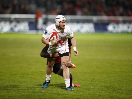 Rugby - Pro D2 - Saison terminée pour Alex Arrate (BO), futur joueur du Stade Français