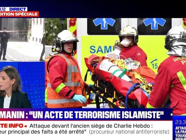 """Edition spéciale: Gérald Darmanin parle d'un """"acte de terrorisme islamiste"""" (2/2) - 25/09"""