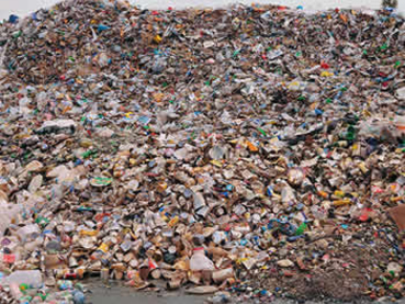 Production de déchets ménagers en France