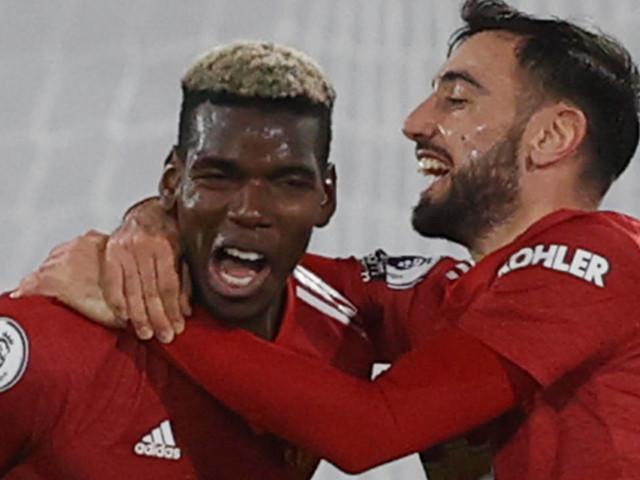 Angleterre: Pogba remet United en tête, City à ses trousses