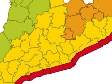 Le littoral catalan en alerte à l'approche de la tempête Gloria