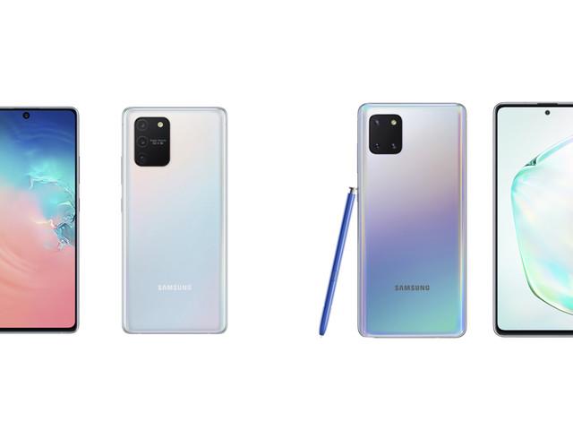 Samsung Galaxy Note 10 Lite et Galaxy S10 Lite officialisés pour le CES 2020