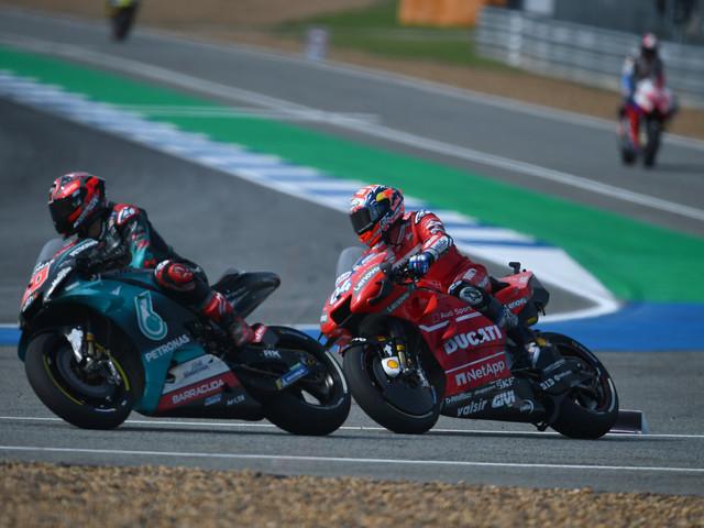 MotoGP: Quartararo en pole en Thaïlande, Marquez 3e