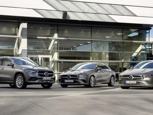 Mercedes débarque avec les CLA, CLA Shooting Brake et GLA EQ Power