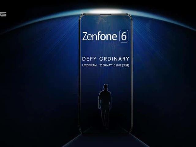 Le Asus Zenfone 6 apparaît sans encoche ni bordure dans ce teaser